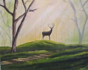 Woodland Stag 017